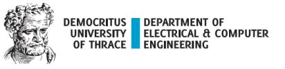 ΔΠΘ   Τμήμα Ηλεκτρολόγων Μηχανικών και Μηχανικών Υπολογιστών Logo